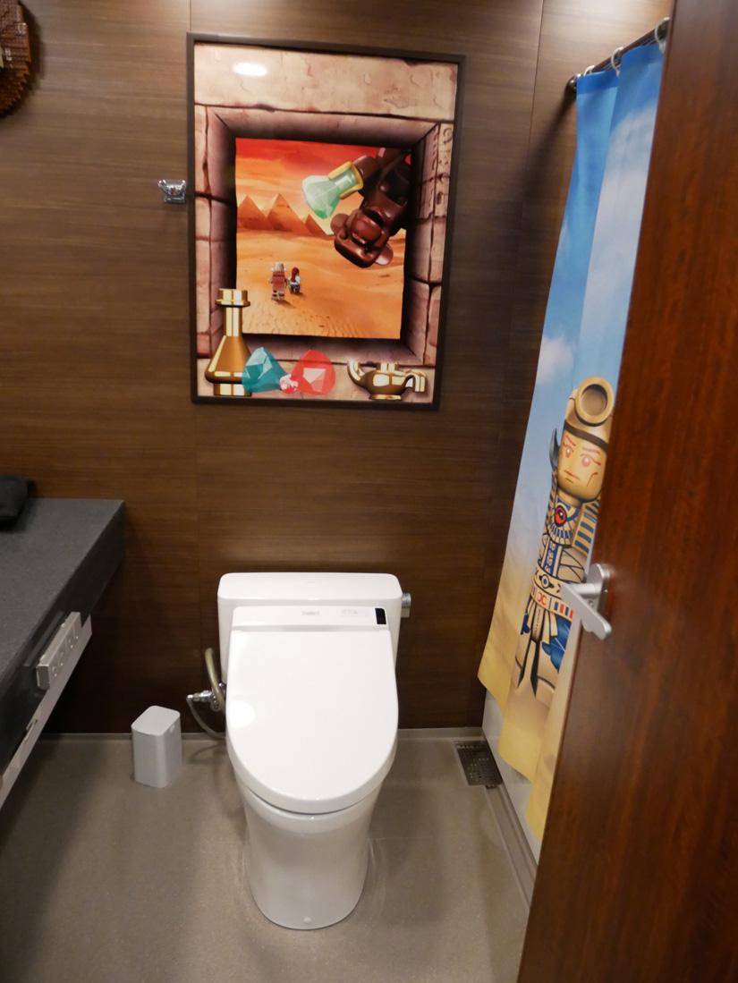 レゴランドホテル トイレ