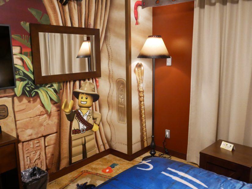 レゴランドホテル 鏡