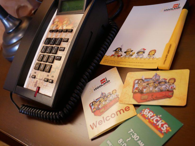 レゴランドホテル 電話・メモ