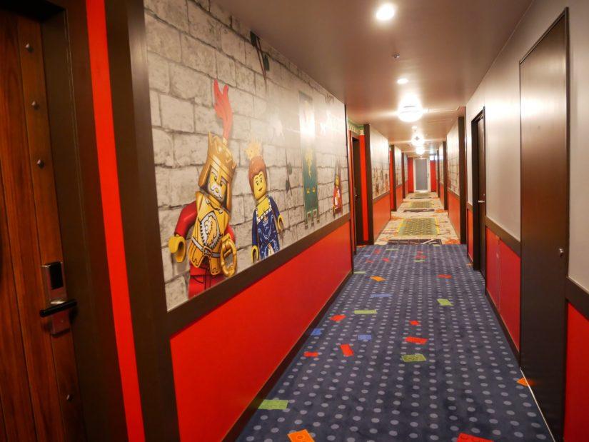 レゴランドホテル 8階廊下