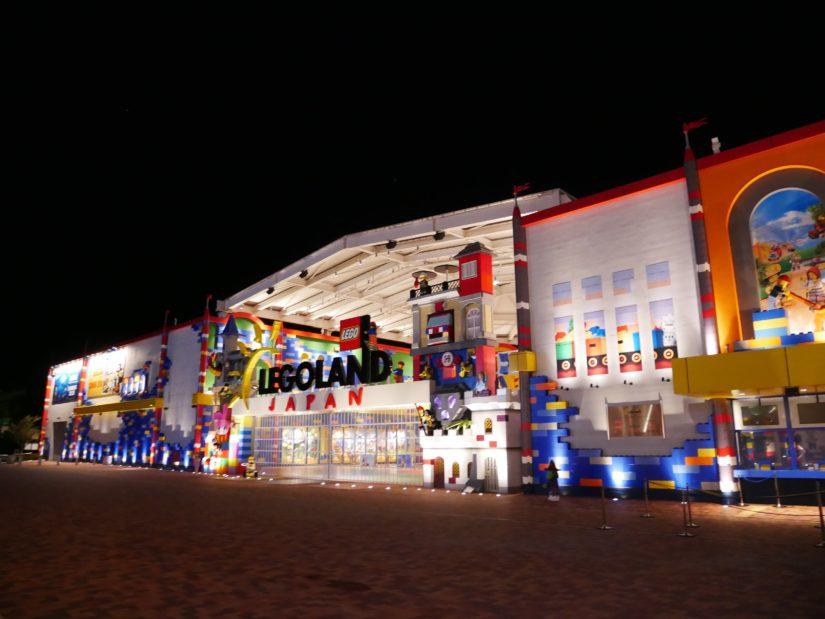 夜のレゴランド