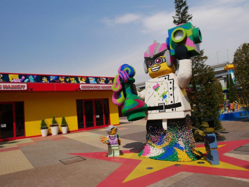 レゴランド 巨大なレゴ人形