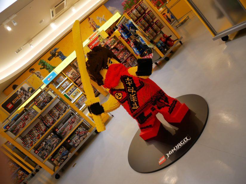 レゴランド園内 ビッグ・ショップ 忍者レゴ