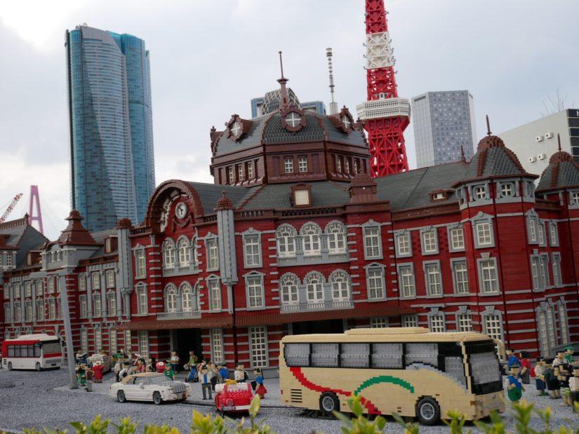 レゴランド園内 ミニランド 東京駅