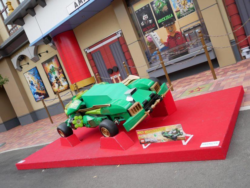 レゴランド園内 レゴの車