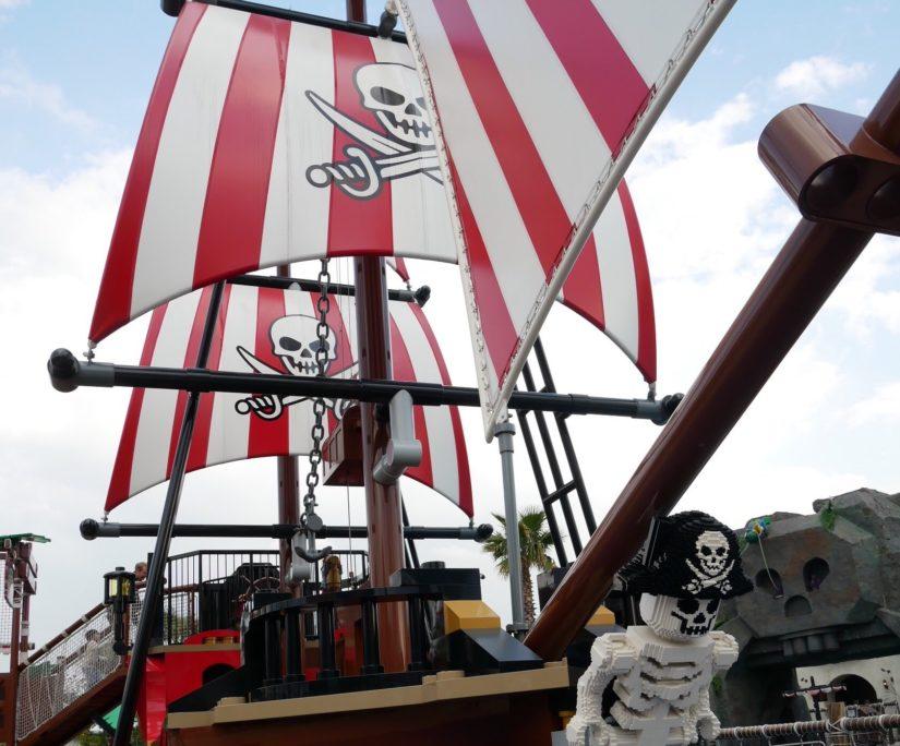 レゴランド 海賊船