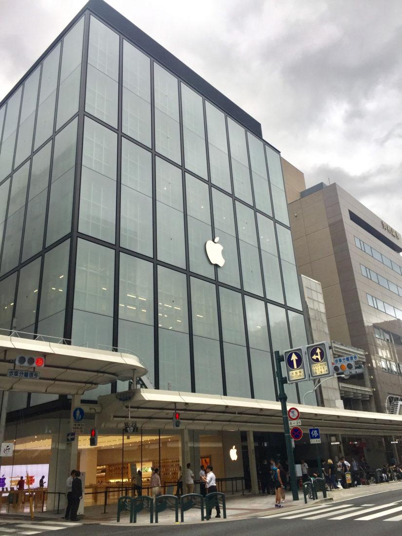 Apple Store京都の外観