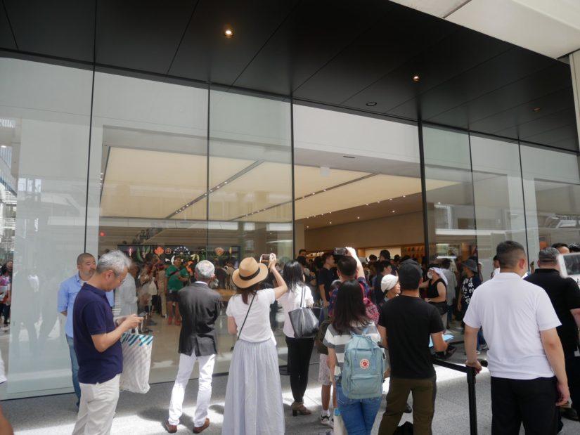 Apple Store出口
