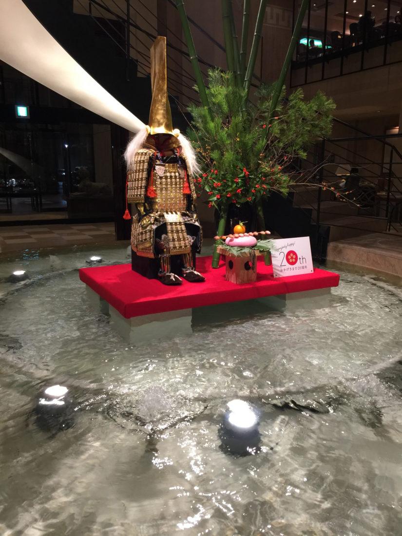 ホテル日航金沢 正月飾り