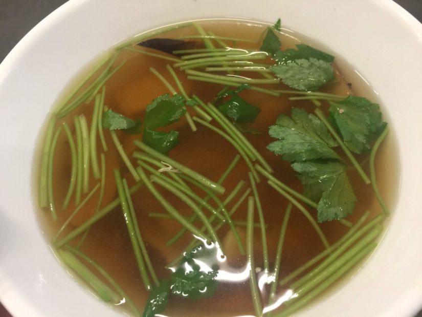 松茸スープのみ