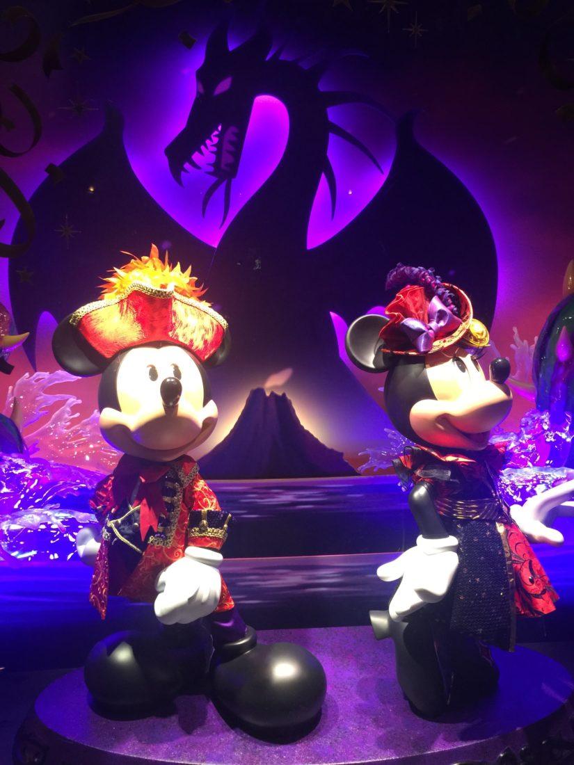 ハロウィーン ミッキーとミニー
